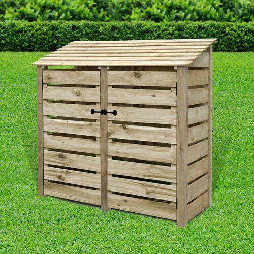 Tappahannock 6 Ft X 3 Ft Wood Log Store Lynton Garden Finish
