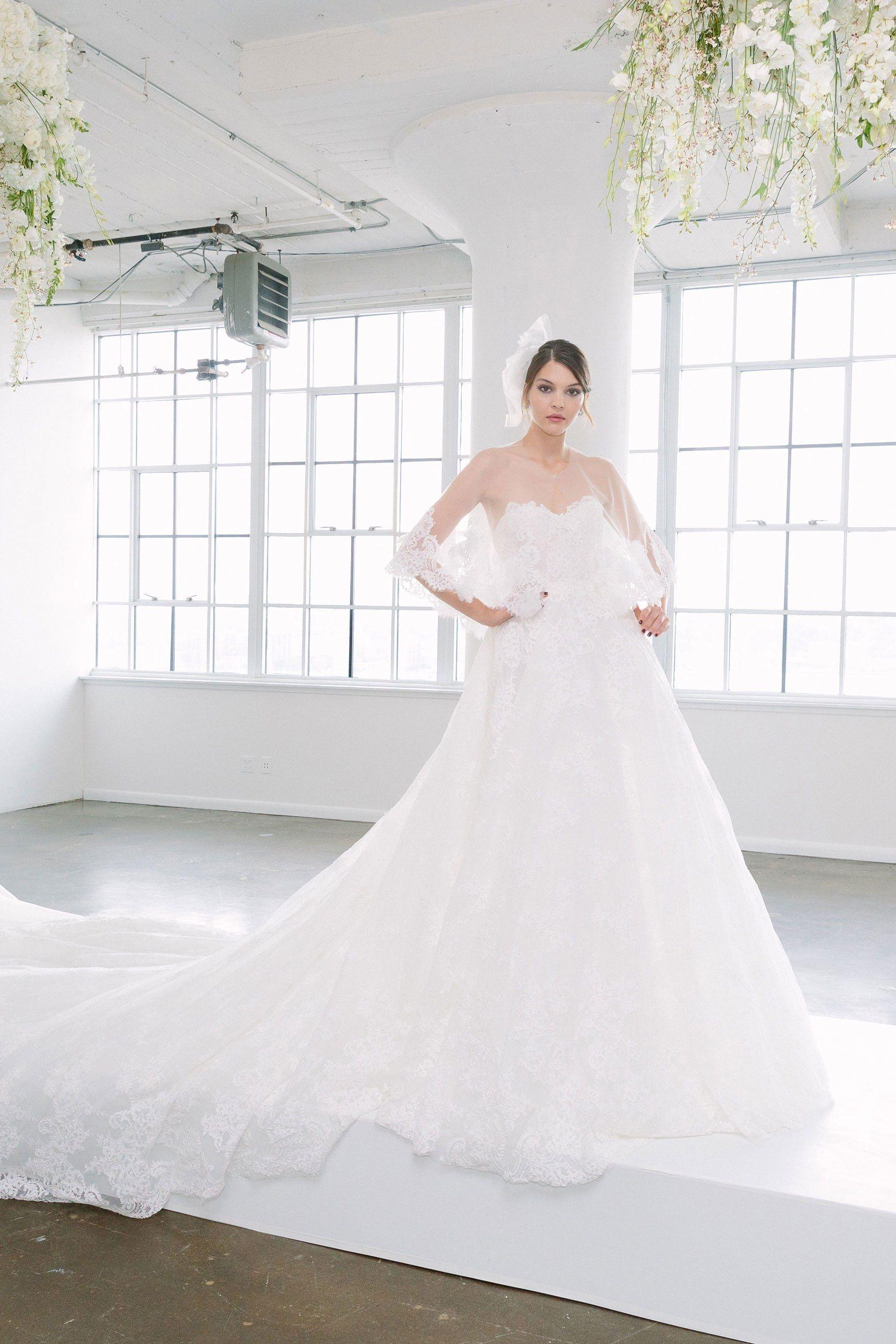 Marchesa bridal fall fashion show bridal fall