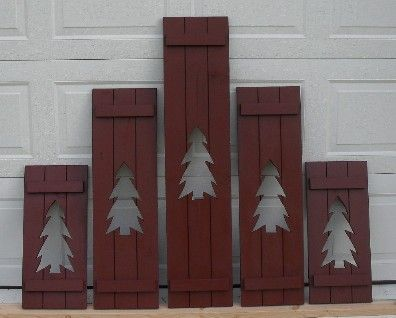 americana wooden outdoor decor | Decorative Country and Primitive ...