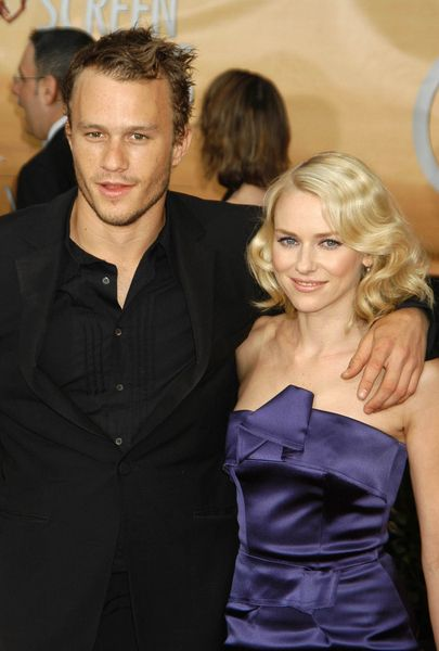heath ledger broke up with her wife and started dating