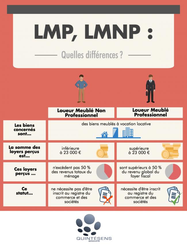 Quelles Sont Les Differences Entre Lmp Et Lmnp En 2020 Investissement Immobilier Locatif Fiscalite Marketing Immobilier