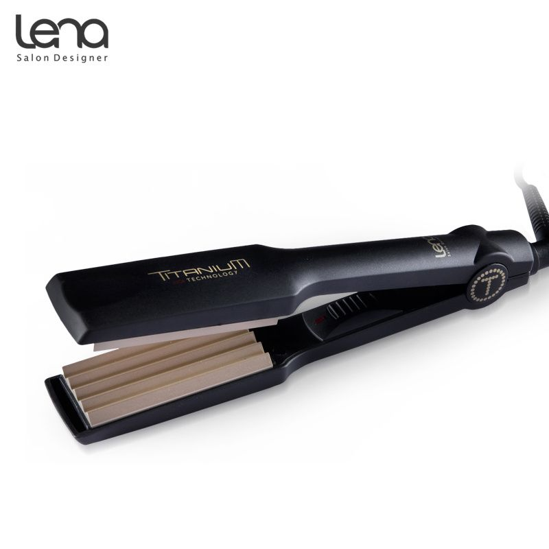 Hairstyler Captivating Ln86W 220V Crimper Ceramic Professional Corrugated Curler Curling