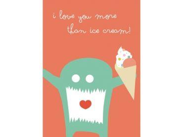 I love you more than ice cream