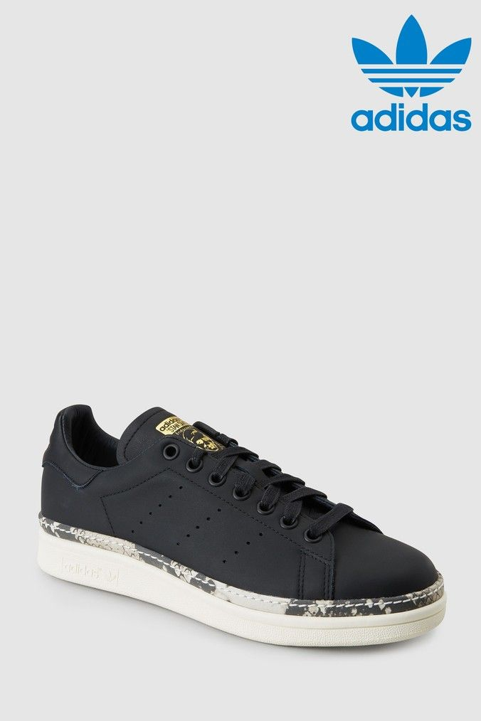 size 40 98179 90a5f Womens adidas Originals Stan Smith Bold - Black | Products ...