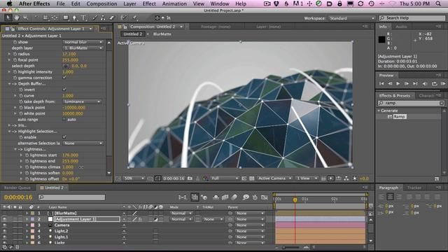 How to Make The AT End Tag Logo in Cinema 4D Part 2 on Vimeo