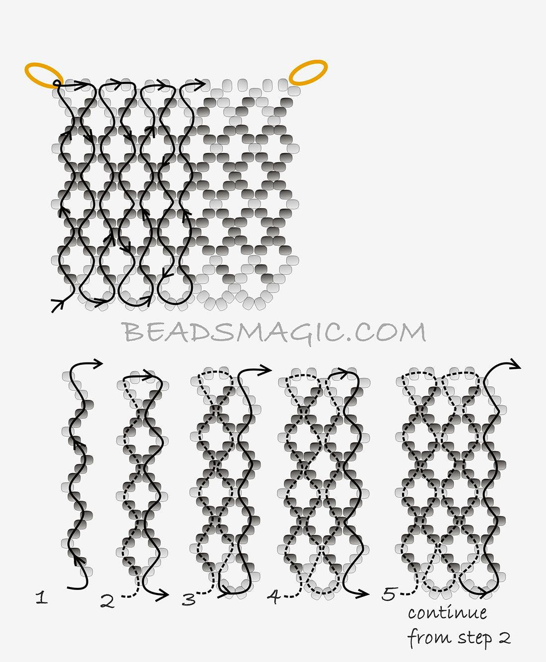 Free Pattern For Necklace Chess Queen