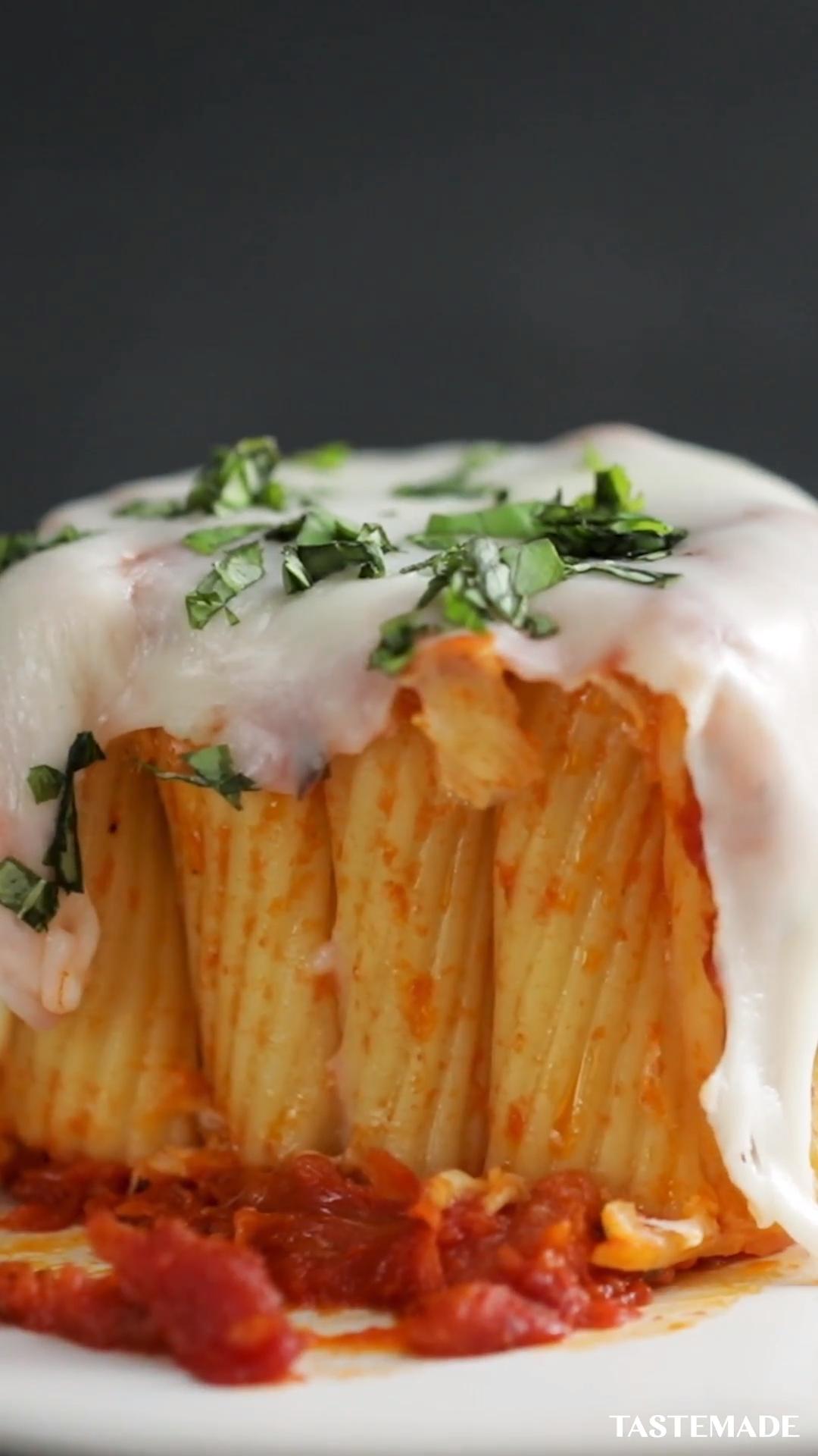 Pasta Mug Rigatoni Video Recipe Video Food Recipes Food Recipies