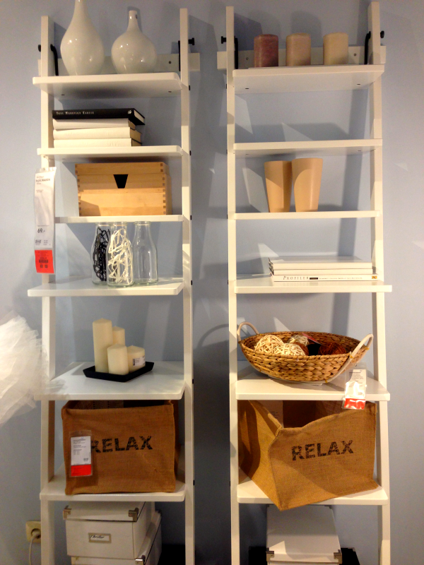 inspiration bei ikea badezimmer pinterest leiterregal ikea und regal. Black Bedroom Furniture Sets. Home Design Ideas