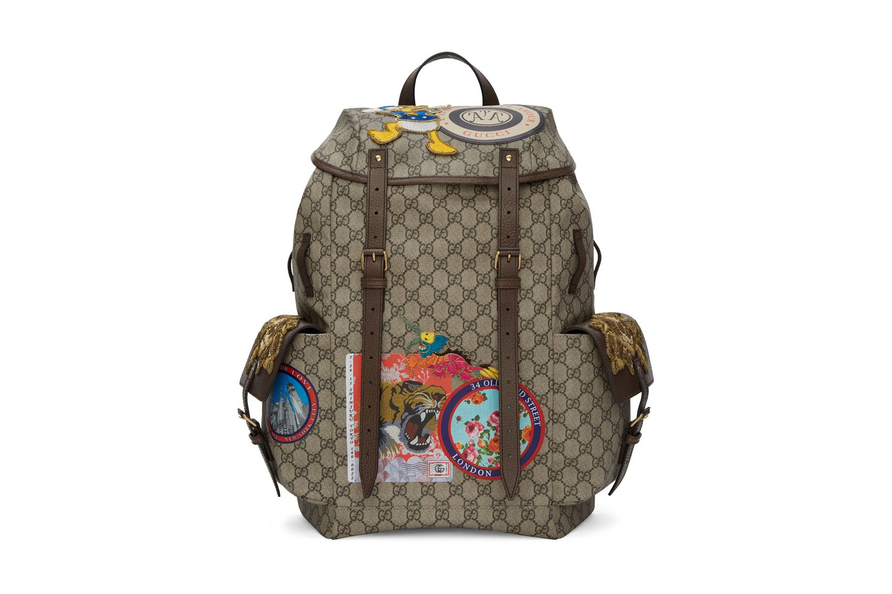 53ac98cc220b Here's the Perfect Backpack for the Gucci and Donald Duck Fan ...