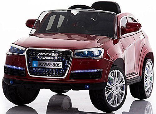 usa power wheels audi q7 xmx805 style red ride on toys luxury cars for kids rc