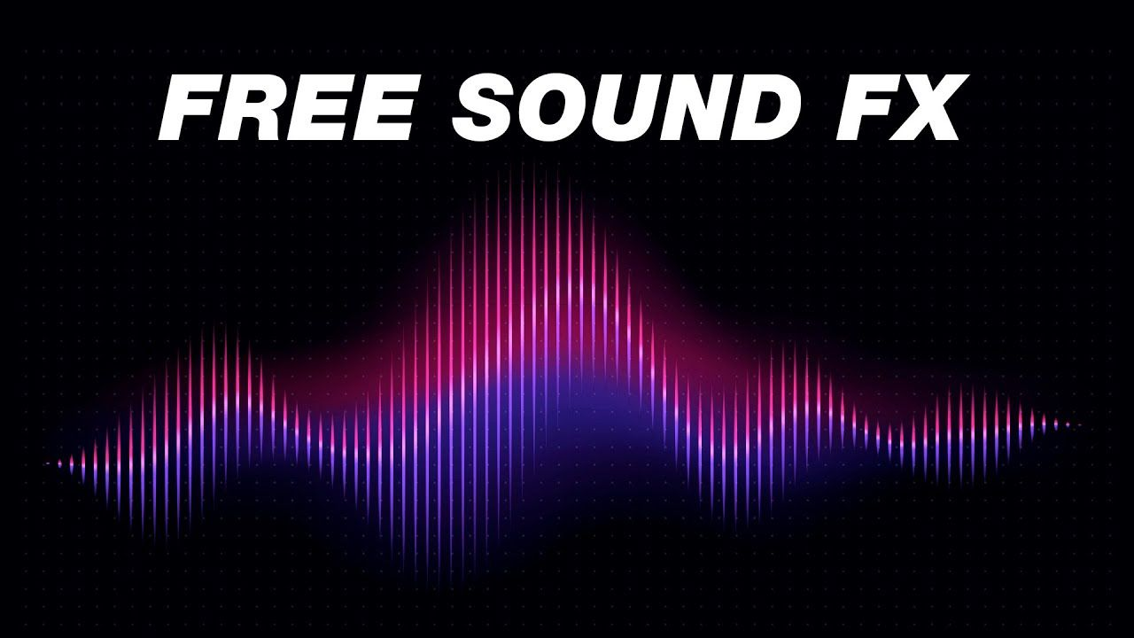 FREE Sound Effects Pack YouTubers Use! (Royalty Free ...