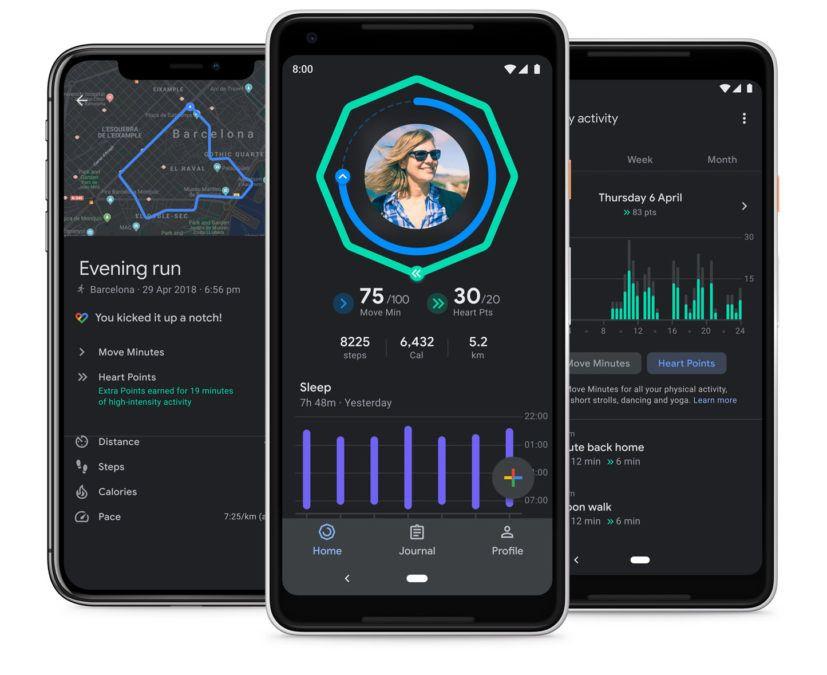 Google Fit gains dark mode, sleep charts in new update