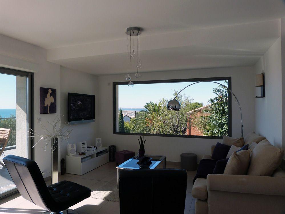 idée fenêtre fixe - source | Fenetre fixe, Extention maison, Plan maison bois