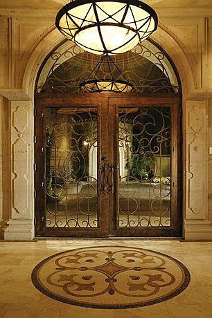 Beautiful Tuscan Entry Hall Mediterraneantuscanold World