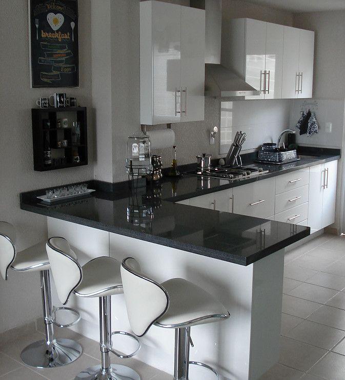 Cocinas integrales proyeccsa cocina pinterest for Diseno de interiores de cocinas pequenas modernas
