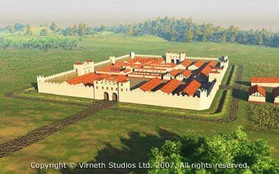 Bildergebnis für roman castles in the roman empire images