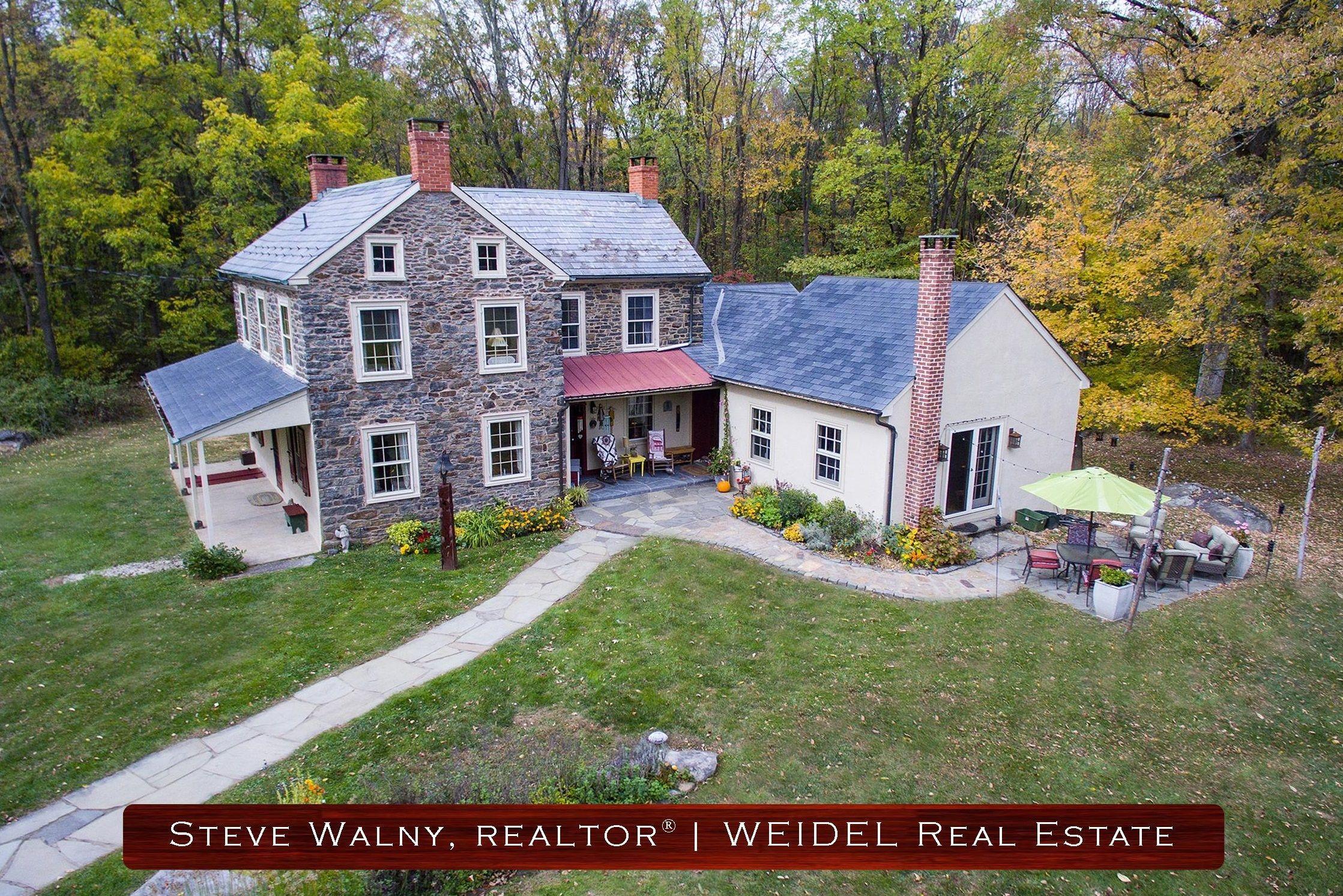 Stone Farm House for Sale Bucks County PA | # ...