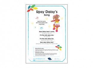 Upsy Daisy S Song Daisy Lyrics Songs Piece Of Music