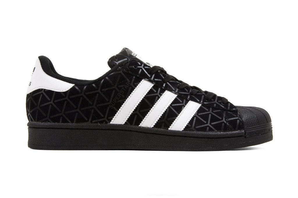 Adidas Originals Superstar Triaxial Print - Black Black  b2f270141a