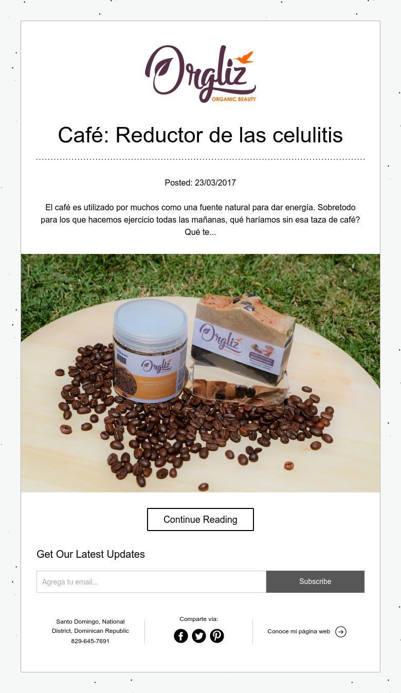 Café: Reductor de las celulitis