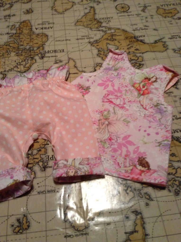 Flower fairy tunic and pans front