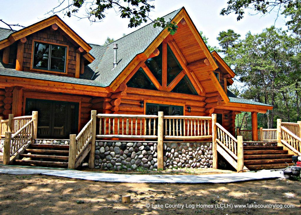 Douglas Fir Handcrafted Log Home Built In New York In 2020 Log Homes Log Cabin Homes Cabin Homes