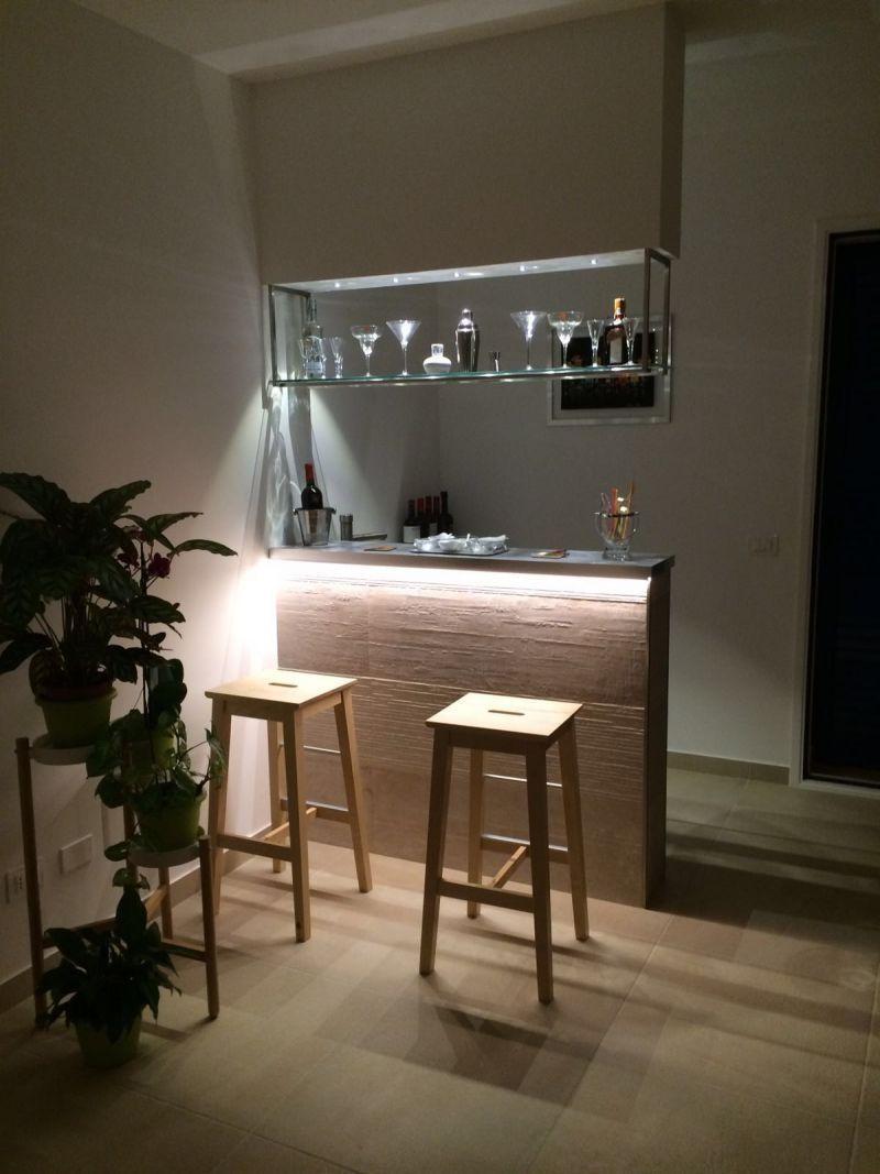 Popular Home Mini Bar Kitchen Designs, Mini Bar For Living Room