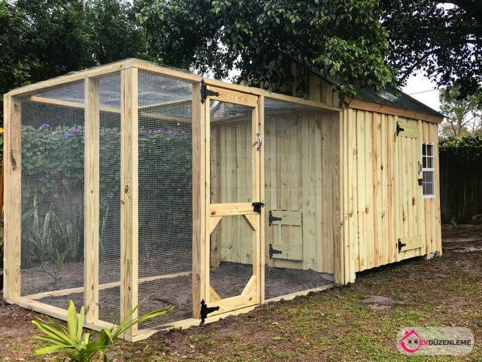 cosy designs for chicken houses. 33 Chicken coop  Tavuk K mesi Modelleri Sevimli Oldu u Kadar Da Yarat c
