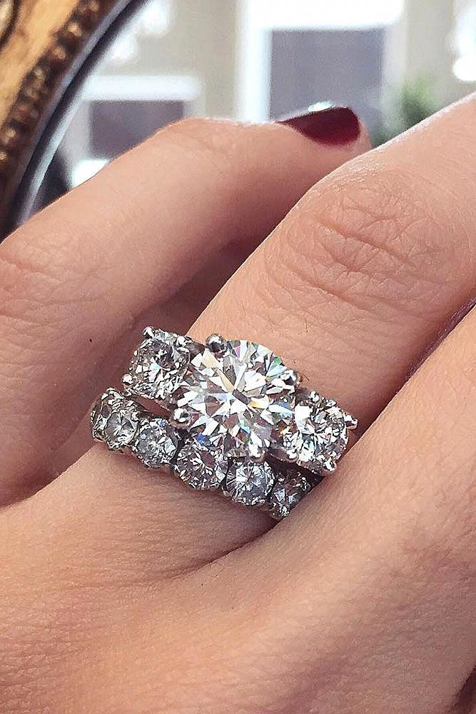 33 Dazzling Diamond Engagement Rings Of Her Dreams - Wedding rings engagement, Diamond engagement rings, Unique engagement rings, Wedding rings halo, Designer engagement rings, Wedding ring 925 - Look through our gallery of diamond engagement rings to find an ideal ring for your dream woman  She will totally say  Yes!