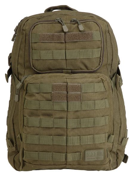 The Rush 24 rucksack by 5 11 is a real feature rich pack well designed well built and a really useful size it is a 24 Hour bag Sized for a
