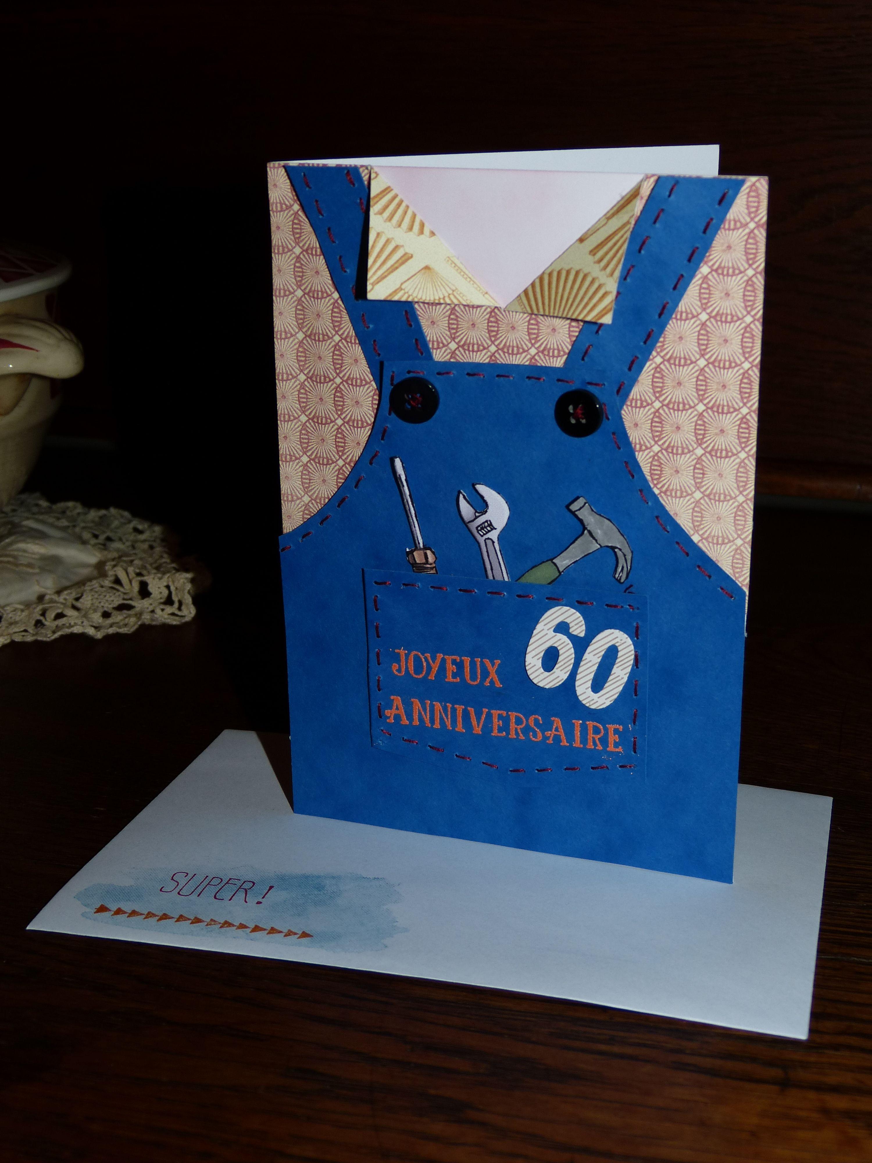 carte anniversaire pour un bricoleur les cartes personnalis es pinterest carte. Black Bedroom Furniture Sets. Home Design Ideas