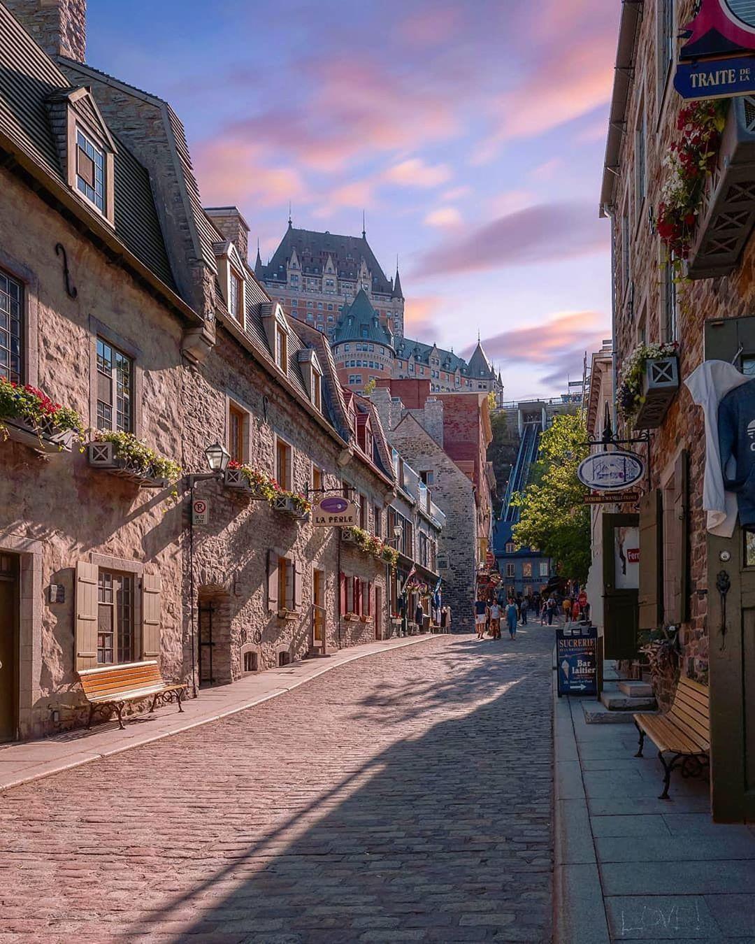 Top Luxury Travel Destinations Quebec City Canada Travel Old Quebec