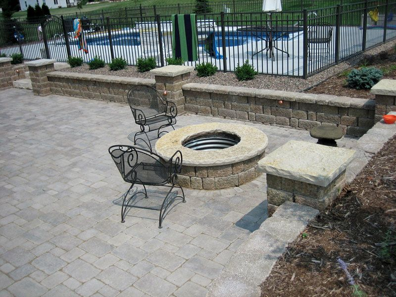 keystone patio pavers designs Keystone Country Manor (Allen and Roth Luxora - Lowes