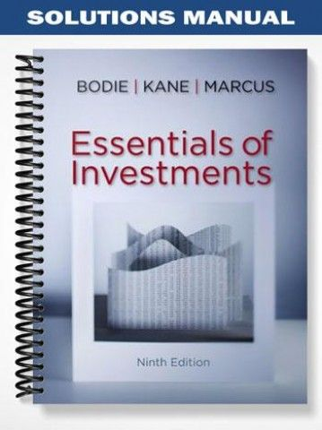essential of investments 9th edition solutions