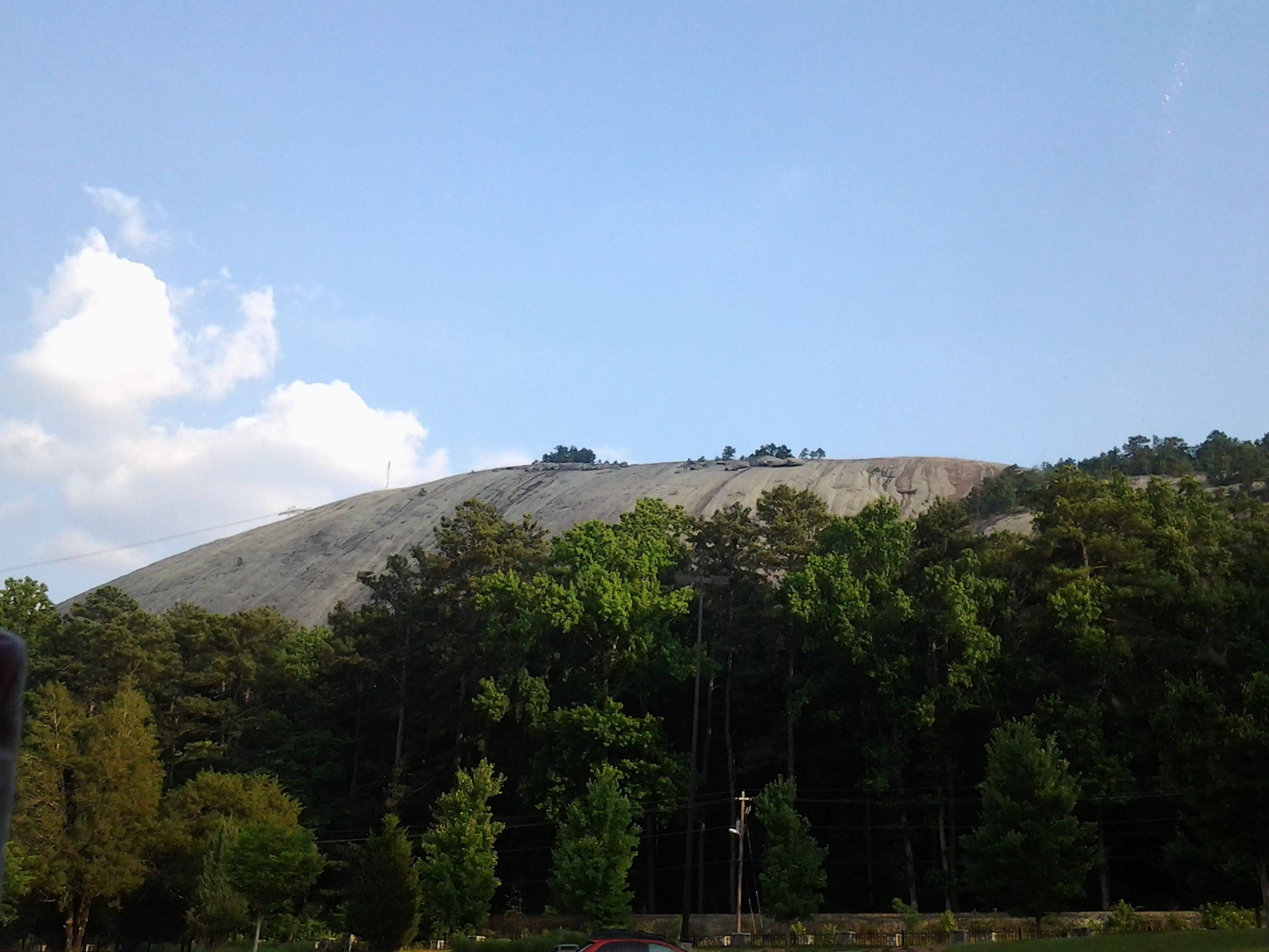 Stone Mountain Park. Best laser show I've ever seen!