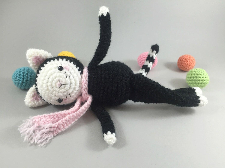 Amigurumi Cat Doll : Amigurumi cat crochet cat doll softie cat plush cat crochet