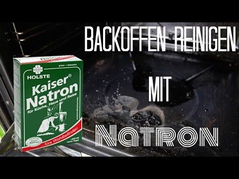 backofen schnell und effektiv reinigen mit natron youtube haushaltstipps pinterest. Black Bedroom Furniture Sets. Home Design Ideas