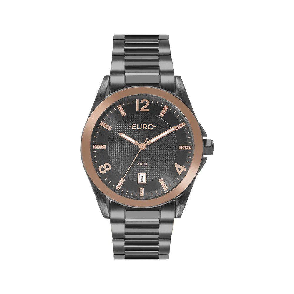 a266f26a9239a Relógio Euro Feminino Color Mix Shine Bicolor EU2315HO 4C - O relógio  bicolor feminino Euro