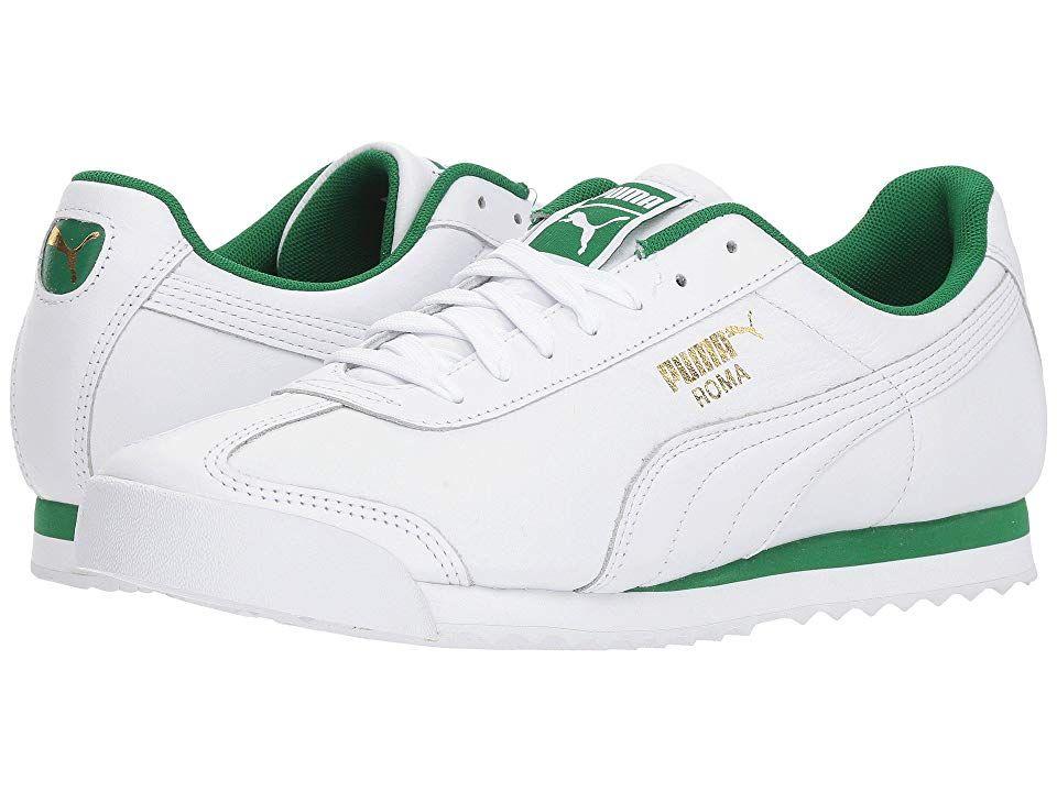 casual Shoes Puma White/Amazon Green