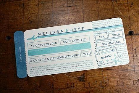 invitacin de boda original