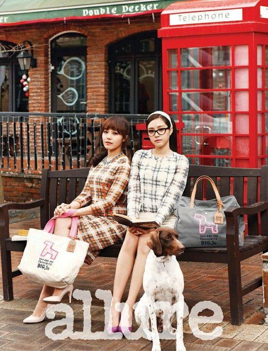 Apink Eunji and Naeun