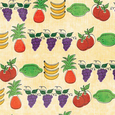 Bright Fruits Shelf Paper by ChicShelfPaper.com   Shelf ...