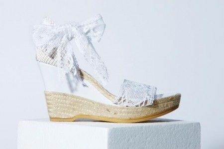 1000 images about chaussures on pinterest models espadrilles and feminine - Chaussure Compense Mariage