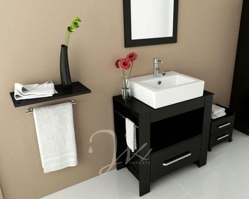 "This is our 31.5"" Libra Modern Single Bathroom Vanity ..."