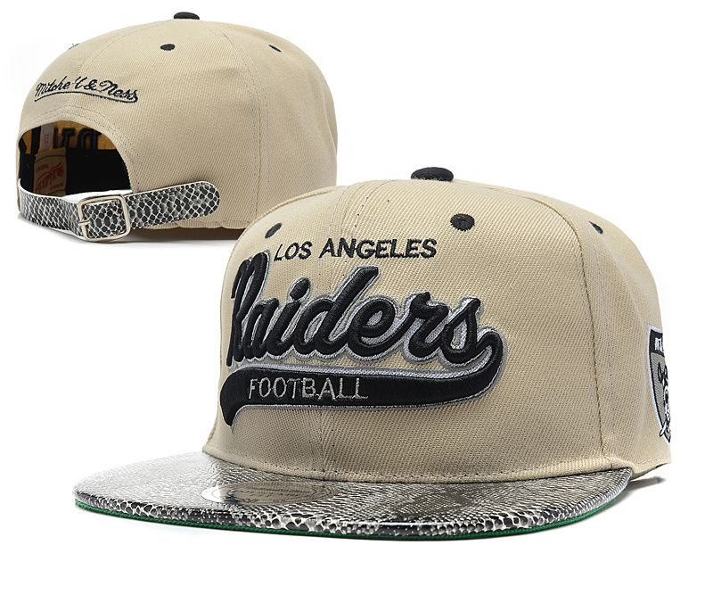 Nfl Los Angeles Raiders Mitchell And Ness Gray Snapback Hats 001 Oakland Raiders Hat Grey Snapback Snapback Hats