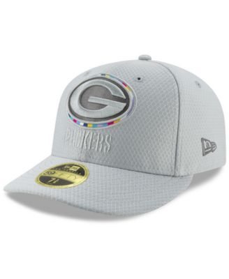 1587603972e228 New Era Green Bay Packers Crucial Catch Low Profile 59FIFTY Fitted Cap -  Gray 6 7/8