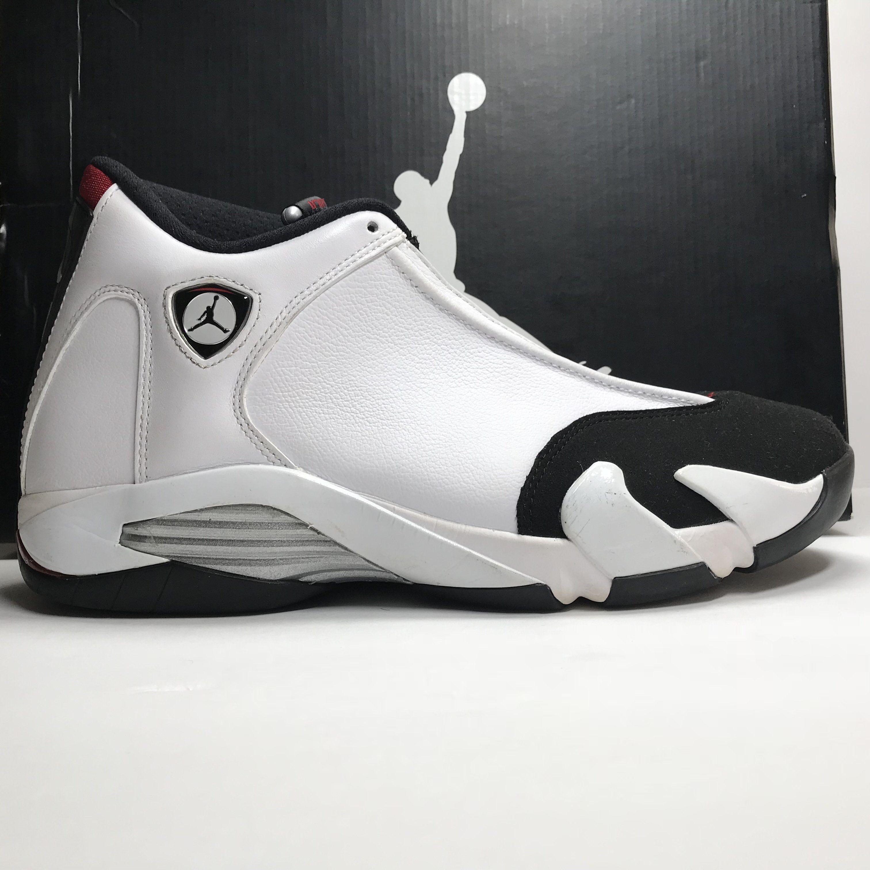 Nike Air Jordan 14 XIV Retro Black Toe Size 10