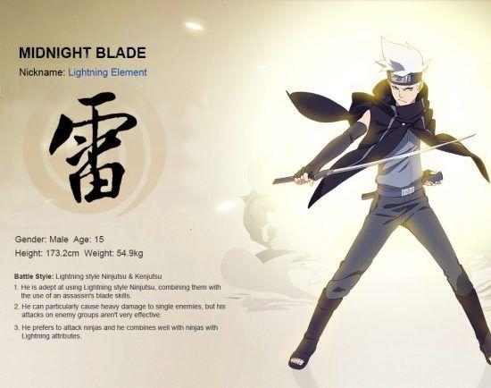 Naruto En S Naruto Midnight Blade Intro Guide Naruto Online