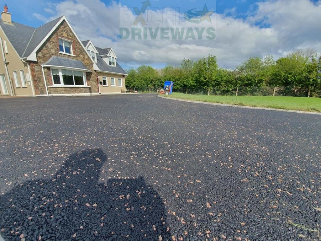 A Large Driveway And Patio Installation Completed By The