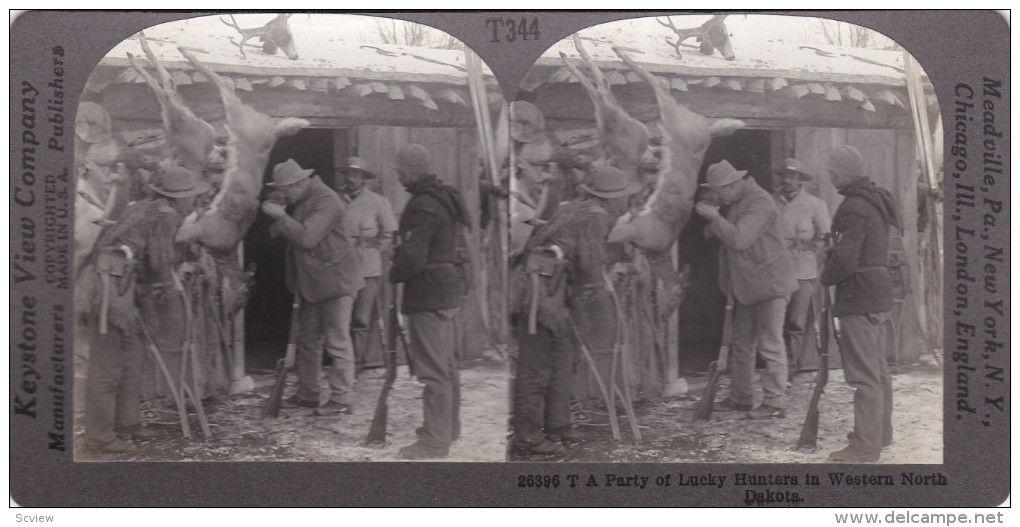 SV: 1910s ; Deer Hunters , North Dakota - Delcampe.com